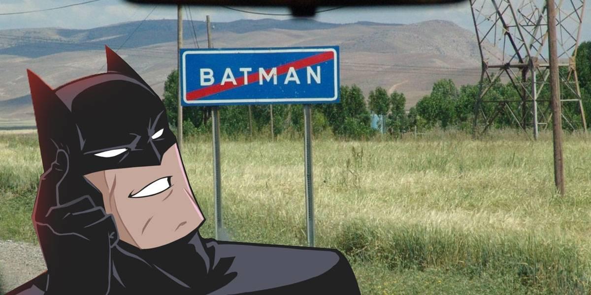 Provincia Turca de Batman quiere cambiar su forma para lucir como el logo del héroe