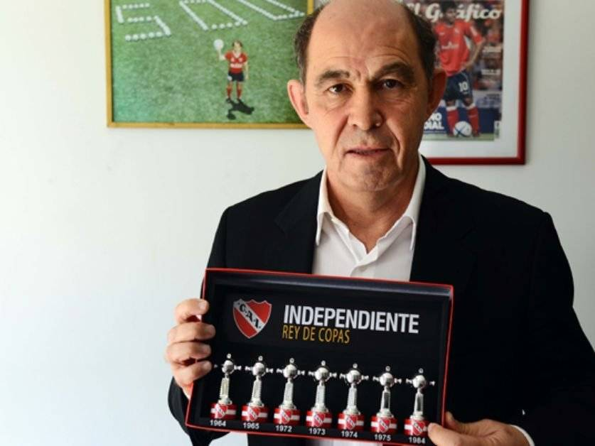 Bochini, ganador de 5 títulos de Libertadores con Independiente / Foto: pasionfutbol.com