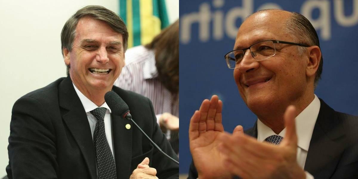 Pesquisa CNT: Sem Lula, segundo turno terá Alckmin e Bolsonaro