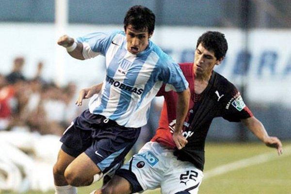 Milovan Mirosevic es el chileno con más partidos jugados y más goles convertidos con la camiseta de Racing Club / Foto: Archivo