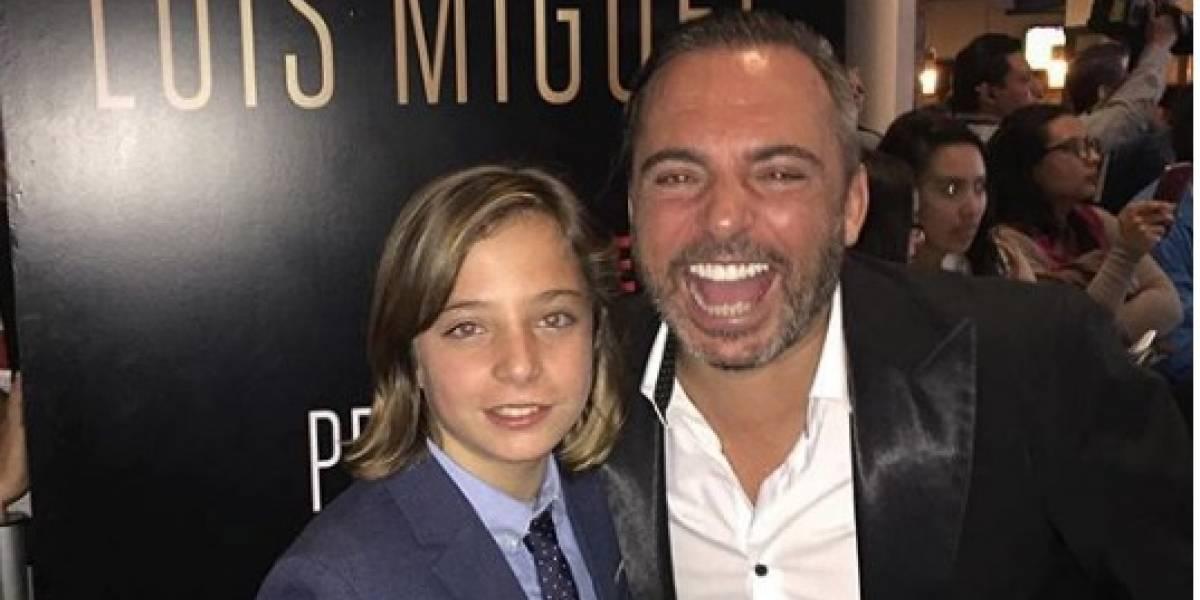 Marcos Llunas en problemas: lo acusan de explotar a su hijo, el niño que interpreta a Luis Miguel en Netflix