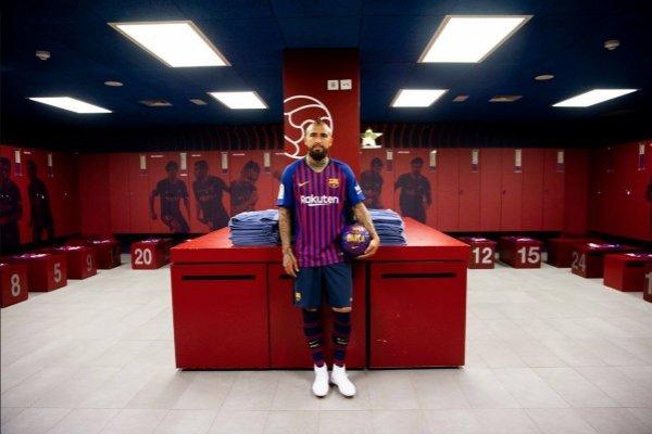 Arturo Vidal debutaría en el trofeo Joan Gamper / imagen: Facebook Barcelona