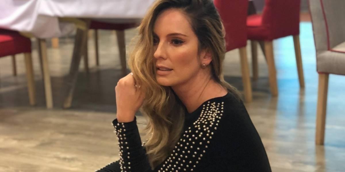 El primer mensaje de Claudia Bahamón tras el fallecimiento de su padre