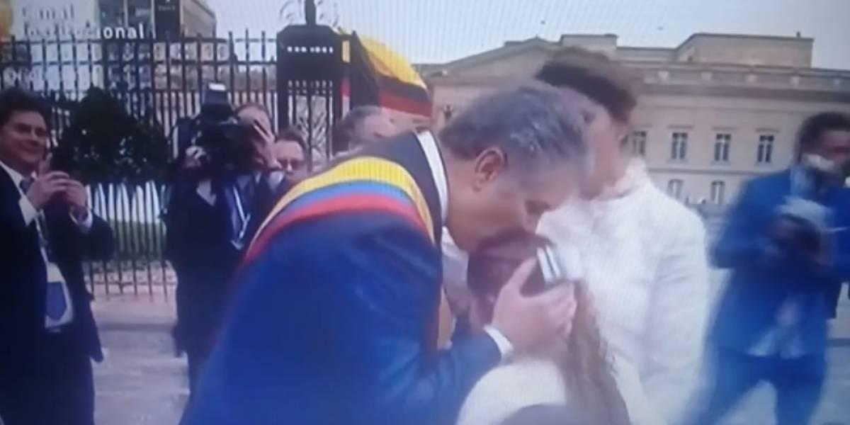 """El """"desplante"""" de Iván Duque a su esposa en la Casa de Nariño"""