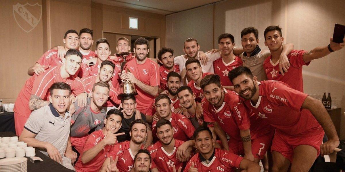 """Independiente, el equipo que ya le dio una copa a Hernández y Silva y que puede terminar con la """"maldición de Ignacio Prieto"""""""