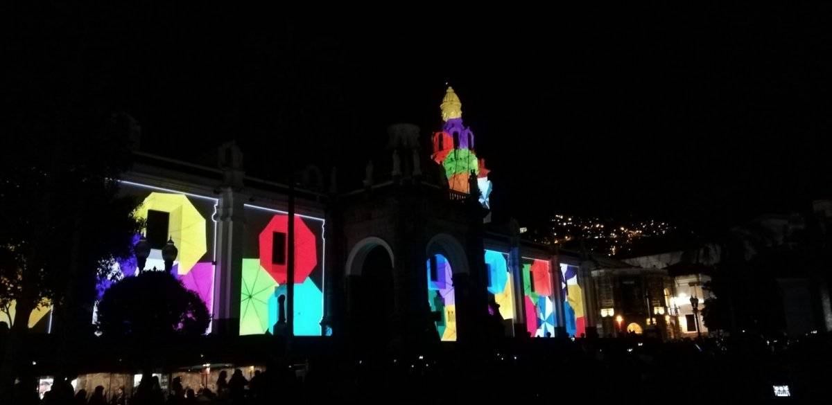 Fiesta de la Luz 2018: Plaza de la independencia: Nicola Cruz
