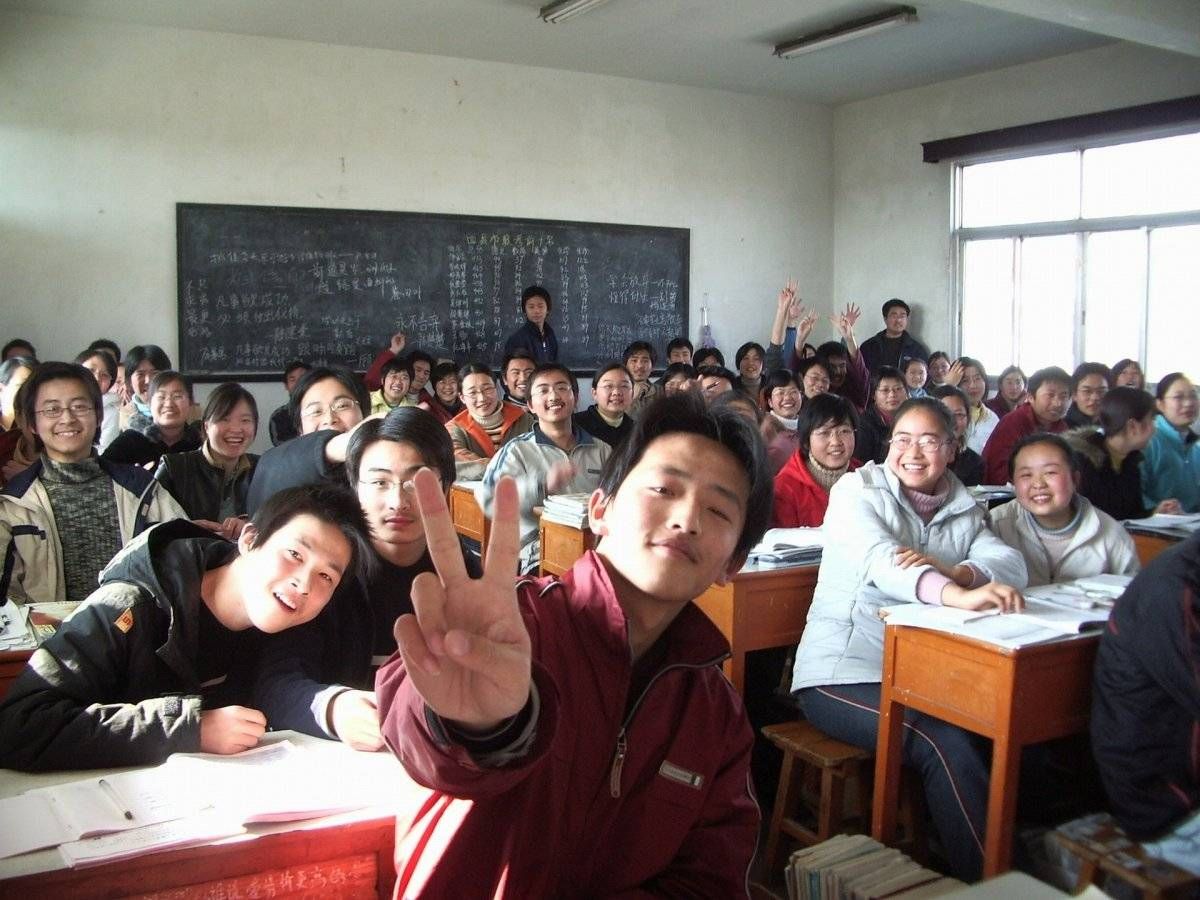 Estudiantes en China, foto alusiva Foto: Pixabay