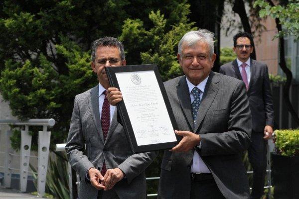 Andrés Manuel López Obrador, presidente electo
