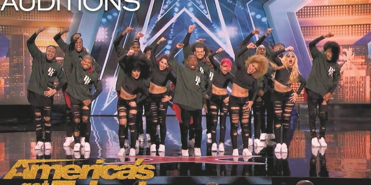 "Grupo dominicano de baile Da' Republik avanza en el concurso ""America´s  Got Talent"""