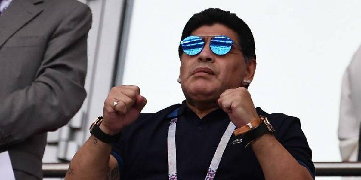 """Maradona: """"Me jode que algunos periodistas no me postulen para técnico de la Selección"""""""