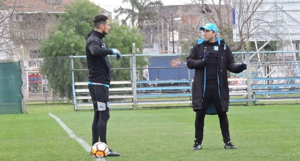 Gabriel Arias se ha ganado la confianza del DT Eduardo Coudet para arrancar como titular su aventura en Racing Club / Foto: Twitter