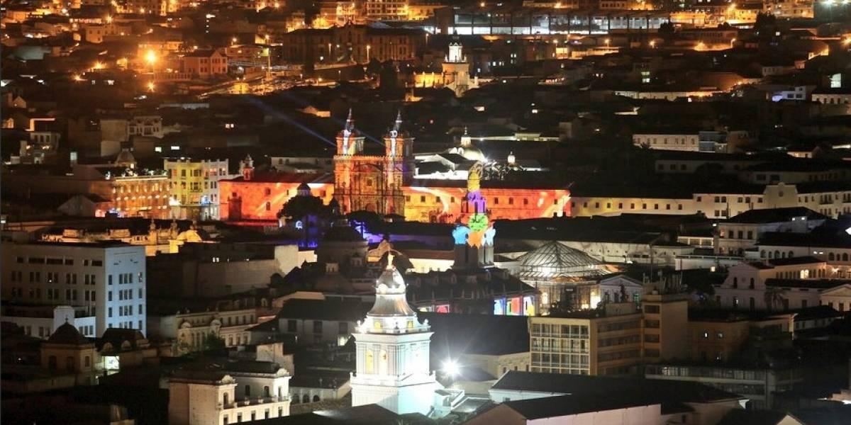 Fiesta de la Luz 2018, así se ven las iglesias de Quito en el evento de luz y color