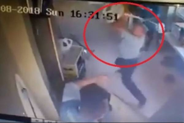 Circulan fotos de involucrados en agresión a guardias saliendo del país