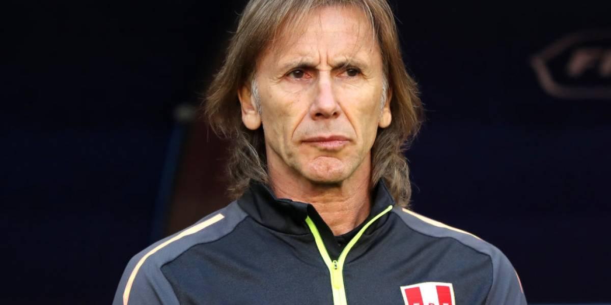 """Gareca le tira puras flores a Chile: """"Tiene buenos jugadores, un gran entrenador, y no pierde nivel con el recambio"""""""