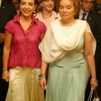 Marta Sahagún y Elba Esther