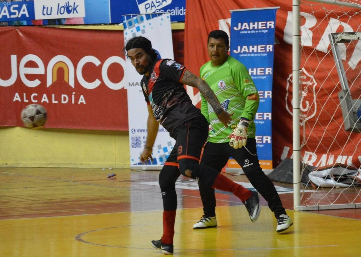 Kaviedes jugó en el Mundialito de los Pobres