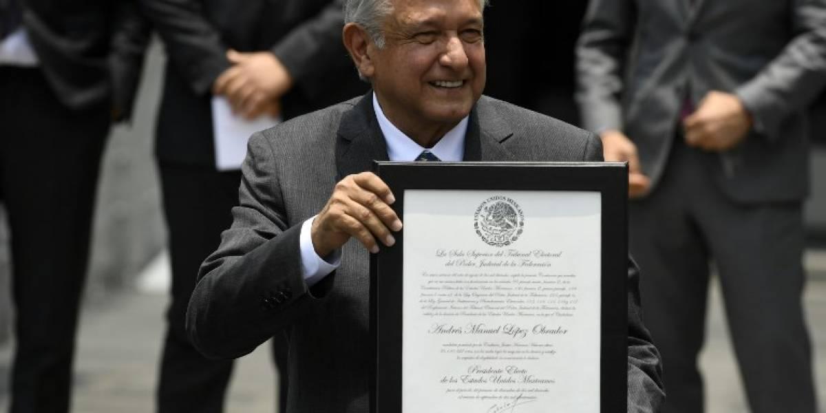 López Obrador, formalmente nombrado presidente electo de México