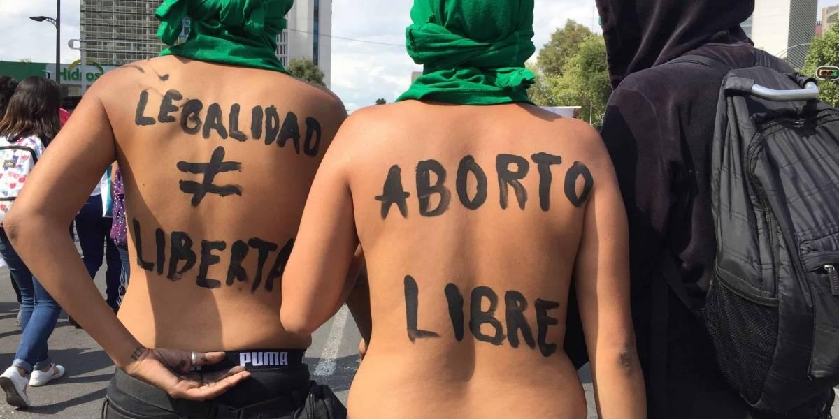 Marea verde toma las calles de la CDMX por legalización del aborto en Argentina
