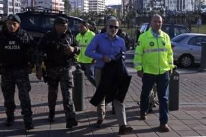En el texto enviado a periodistas, el exfuncionario del régimen de Rafael Correa anunció que ya no se encuentra en Ecuador