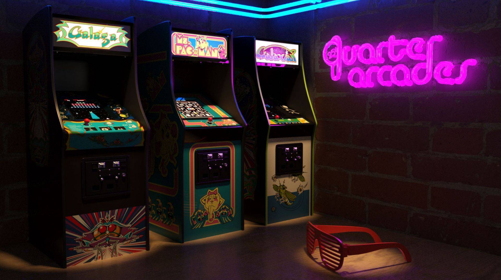 Pac-Man Mini Arcade