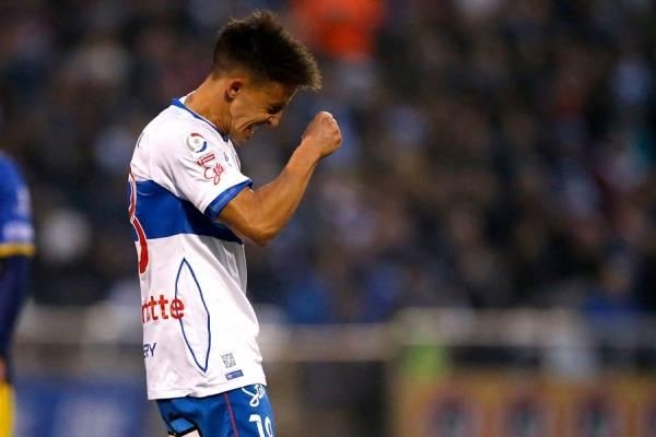 Diego Buonanotte será baja sensible en la UC / Foto: Photosport