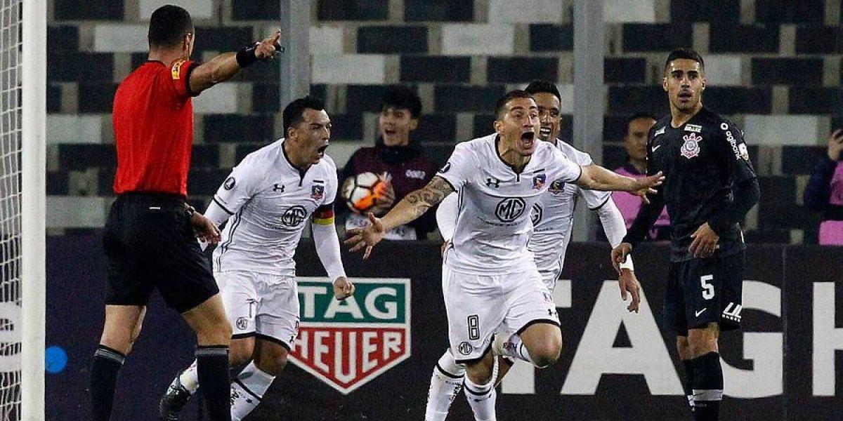 Colo Colo le ganó a Corinthians y tiene permitido soñar en grande en la Copa Libertadores