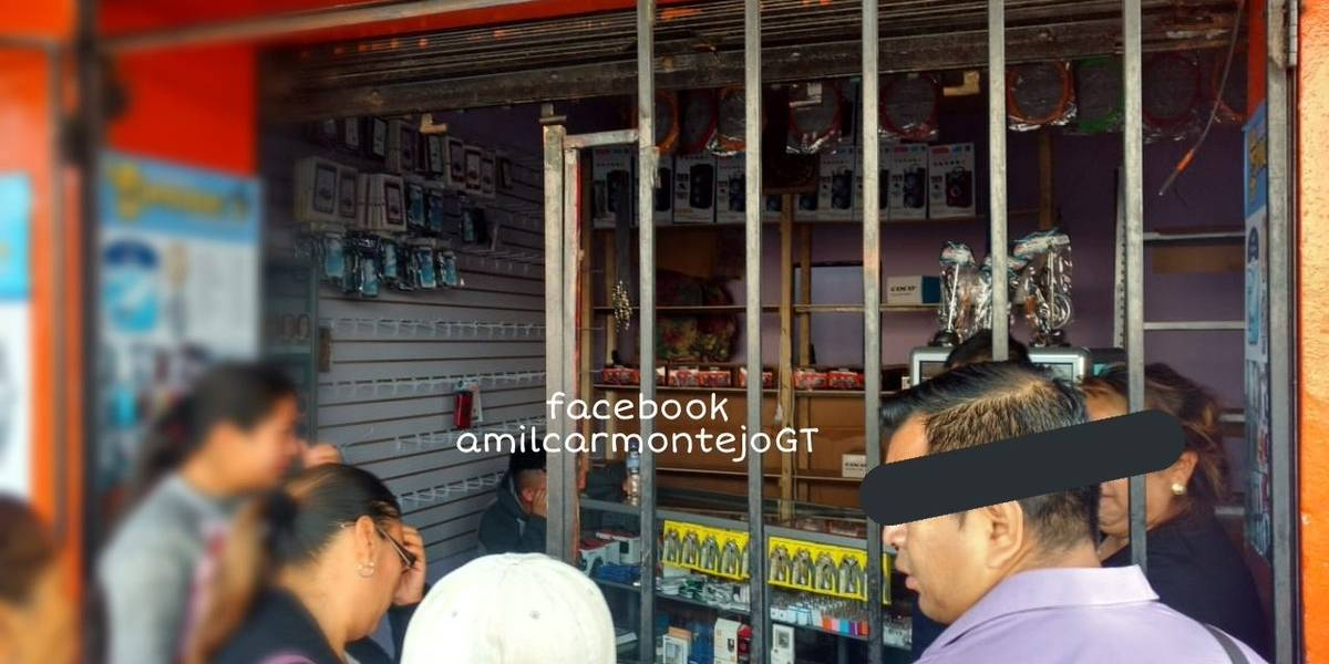 Reportan robos en comercios de la avenida Petapa, zona 12