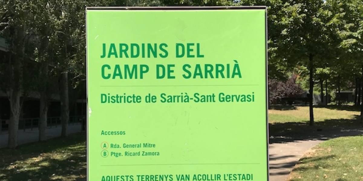 Postal de Barcelona I: el Sarriá