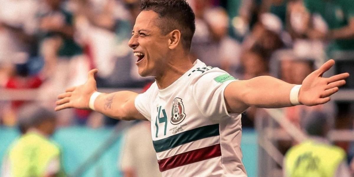 'Chicharito' califica como positiva la participación del Tri en el Mundial