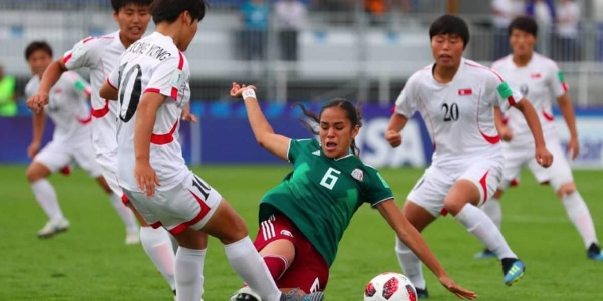 Tri femenil Sub 20 complica su pase al caer ante Corea del Norte