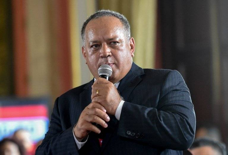 Diosdado Cabello, presidente de la Constituyente
