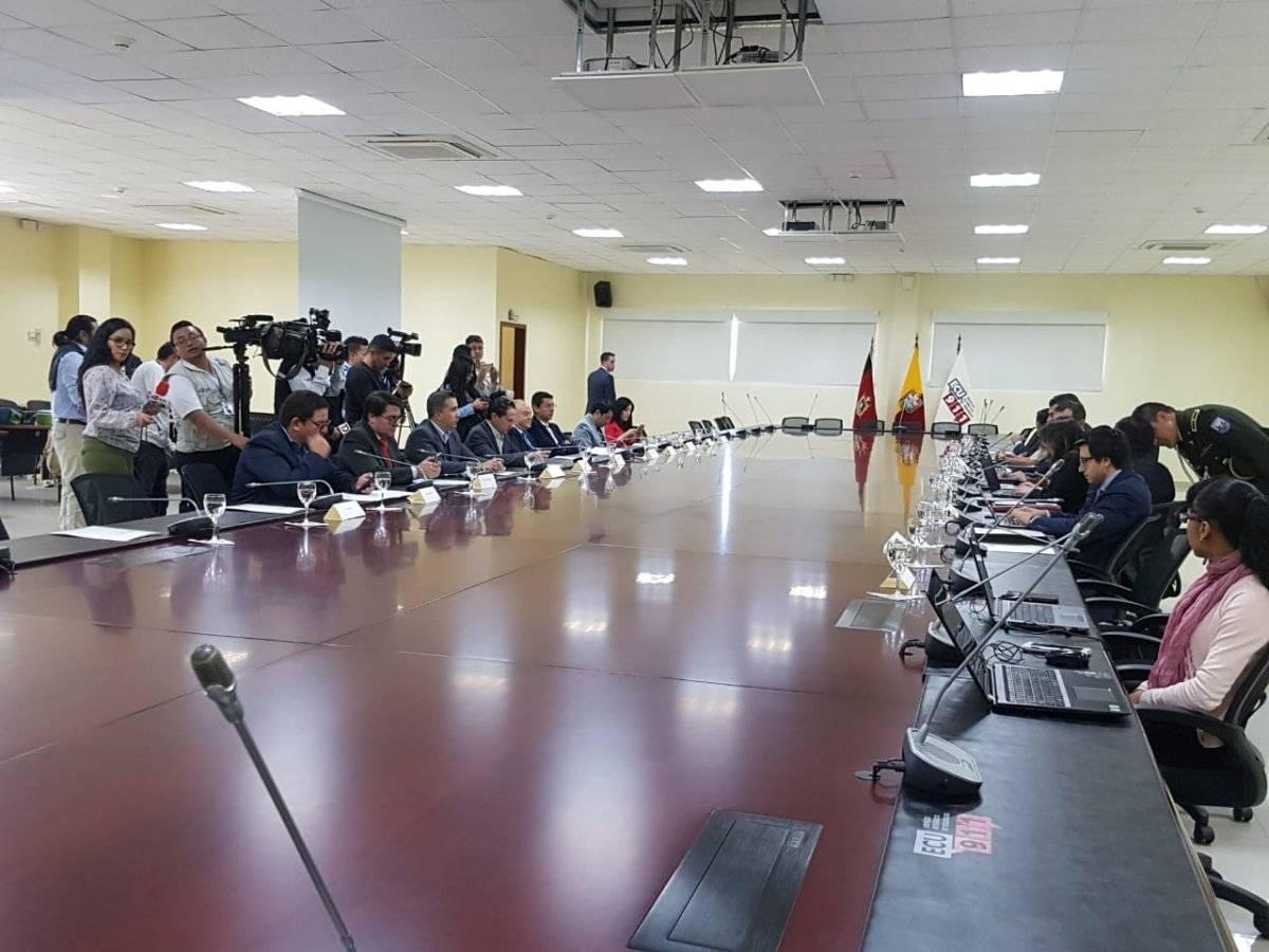 Directivos de medios de comunicación se reunieron con el Ministro Mauro Toscanini para acuerdo sobre alerta Emilia
