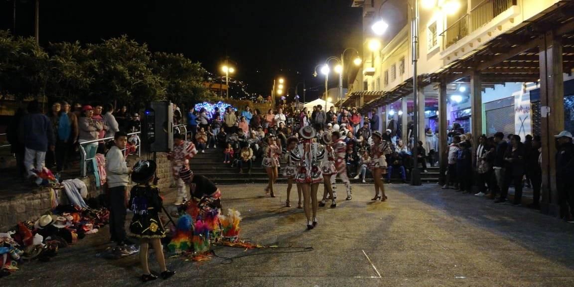 Teatro Callejero en la Fiesta de la Luz