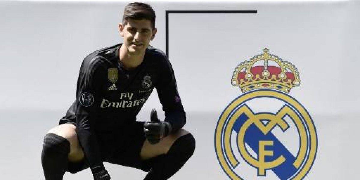El Real Madrid le da la bienvenida a su nuevo arquero: Thibaut Courtois