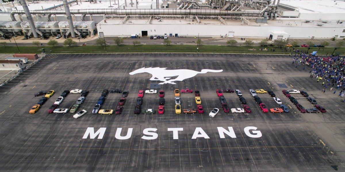 Así celebró Mustang la producción de 10 millones de vehículos