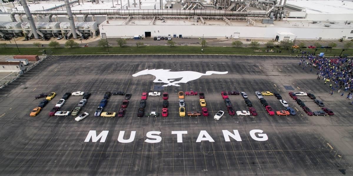 Mustang celebra la producción de su unidad 10 millones