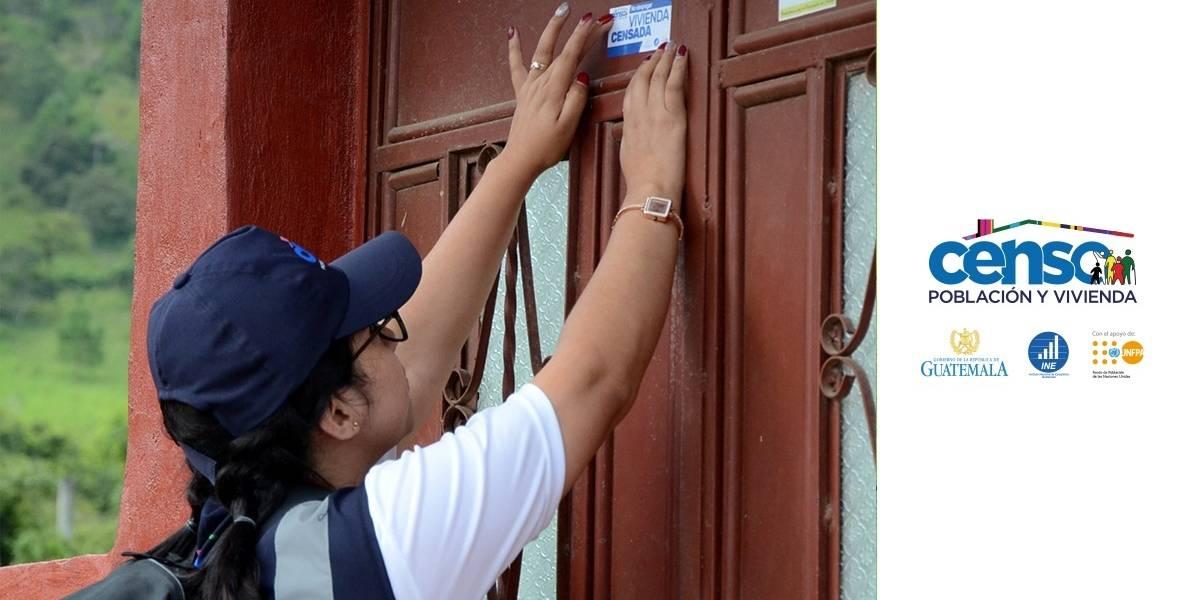 INE contabiliza 2.6 millones de hogares censados en el país