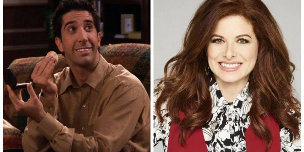 Will & Grace: David Schwimmer, o Ross, será namorado da protagonista na 2ª temporada