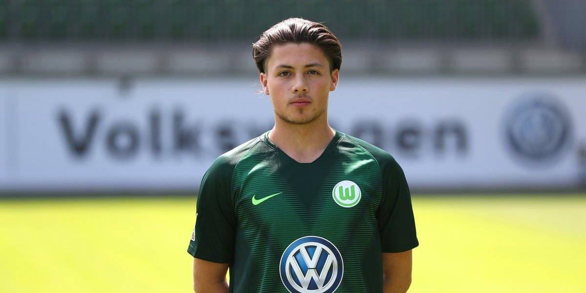 Wolfsburgo presentó a su joya mexicana: Adrián Goransch