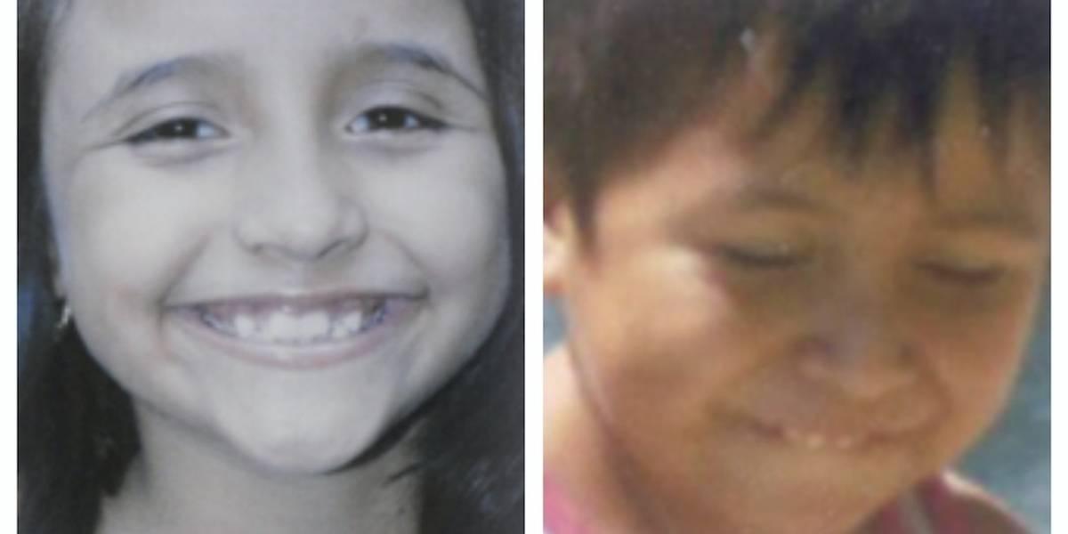 Alba y Keneth, los niños que no fueron buscados en 24 horas