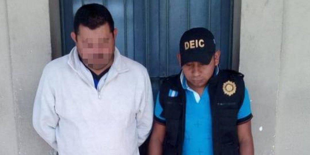 """Capturado líder del """"Comando Silencioso"""" en Chimaltenango"""