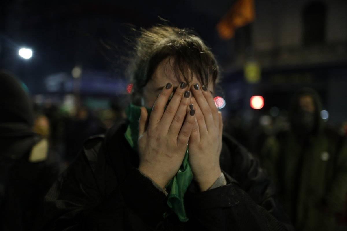 La madrugada del 9 de agosto fue histórica en Argentina Foto: AP