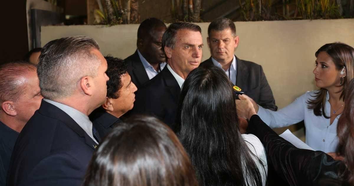 Jair Bolsonaro (PSL) André Porto/ Metro