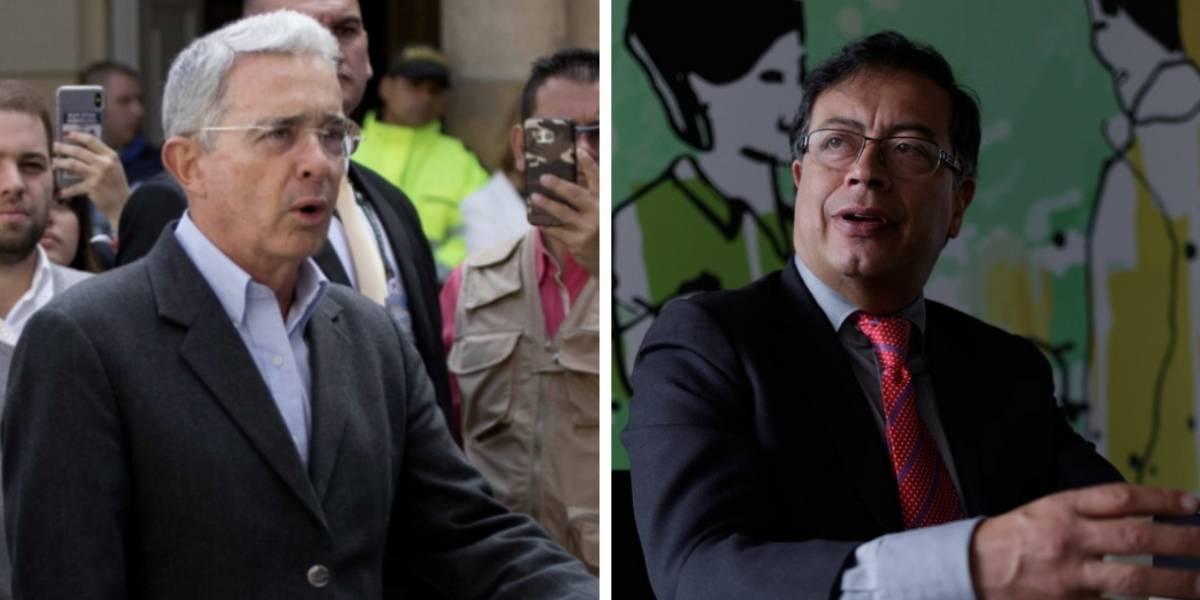 Así fue el primer agarrón entre Petro y Uribe en el Congreso