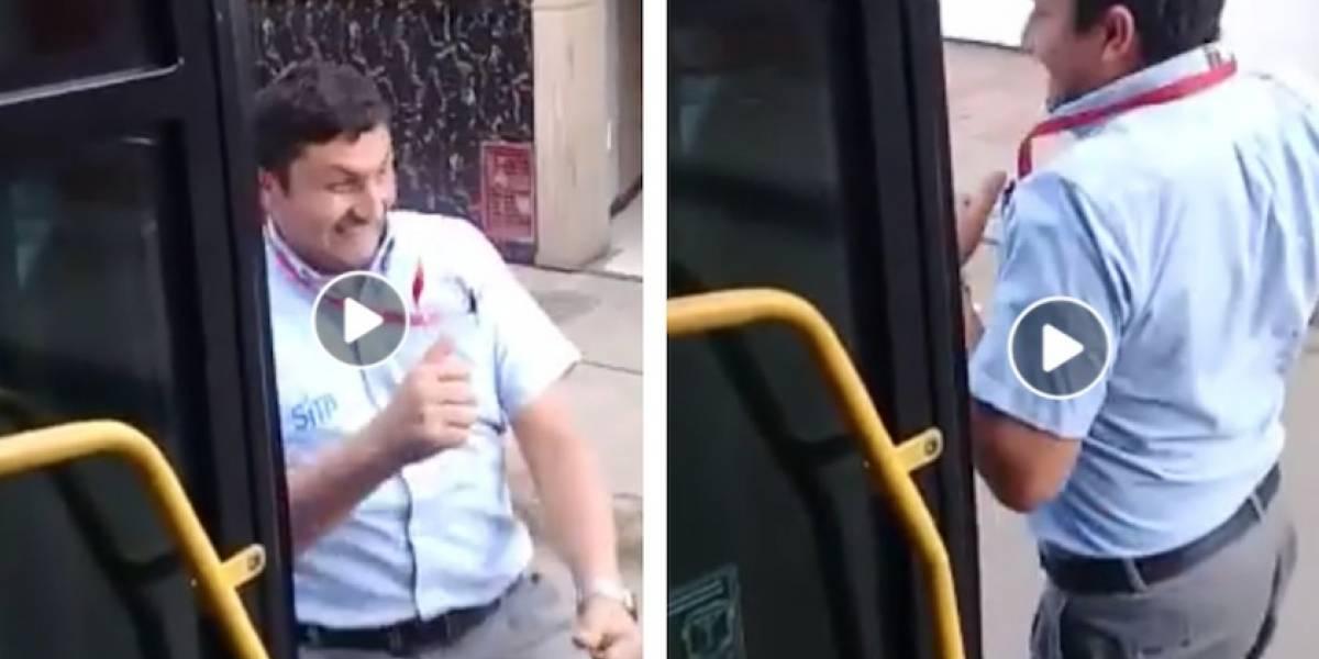 Video: conductor del Sitp también hizo el #InMyFeelingsChallenge