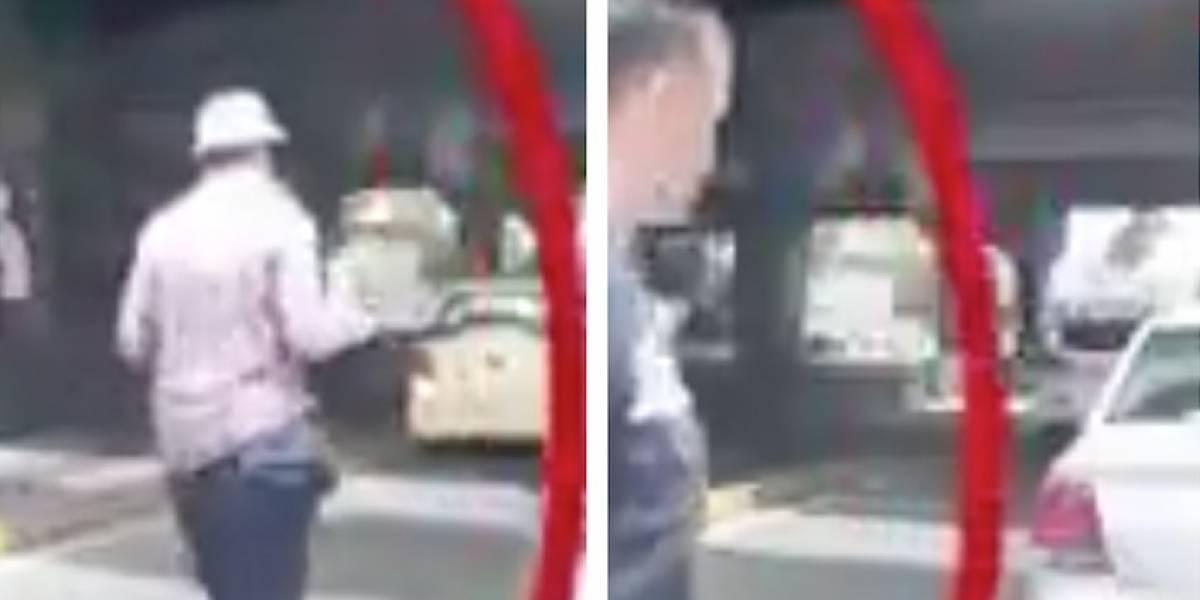 Video: en segundos y de día, banda atraca los ocupantes de un carro en Bogotá