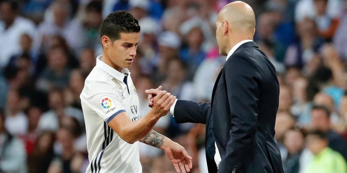 El 'vainazo' que lanzó un referente del Bayern contra Zidane por su trato con James