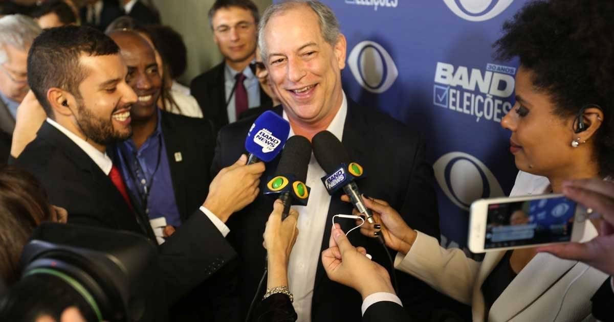 Ciro Gomes (PDT) André Porto/ Metro