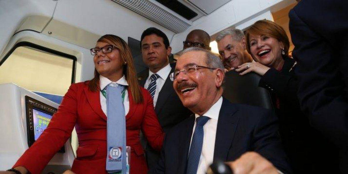 Danilo Medina inaugura Línea 2B del Metro de Santo Domingo