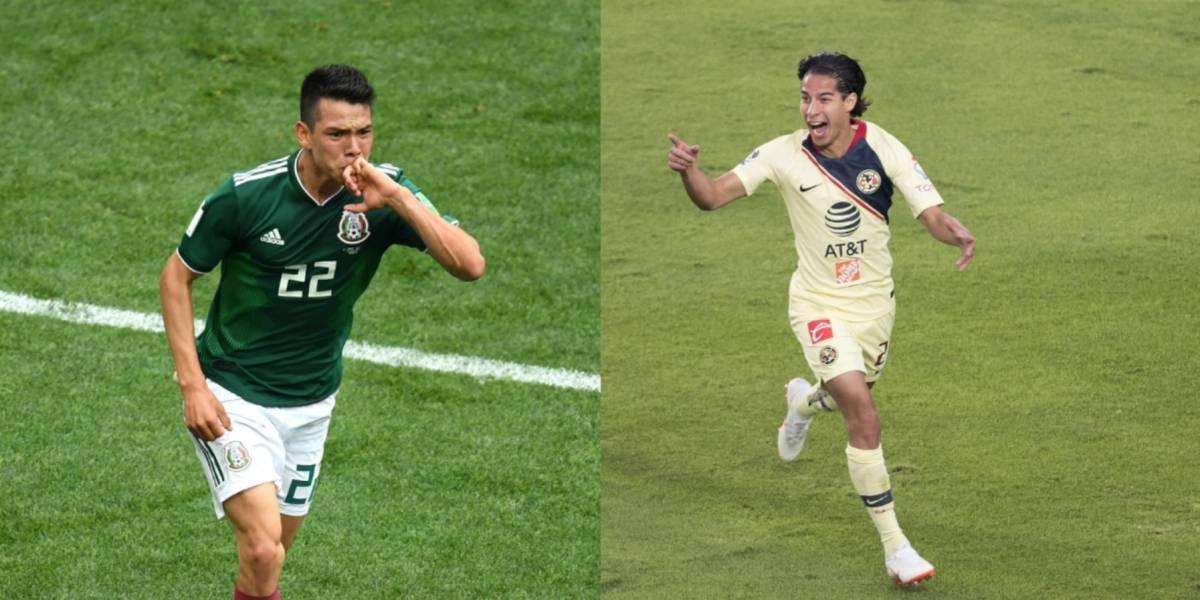 Herrera quiere convertir a Lainez en el próximo 'Chucky' Lozano